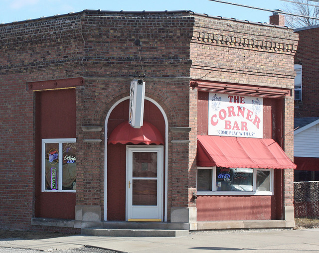 The Corner Bar, Divernon IL - CC image from Randy von Liski