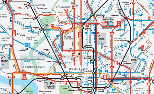 DC bus map