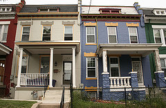 "DC row houses - the first CC image hit for ""dc house flips"" on Flickr. Photo from Elvert Barnes."